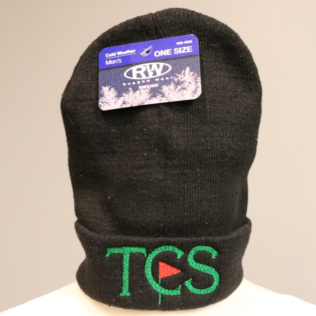 Black TCS Small Knit Cap