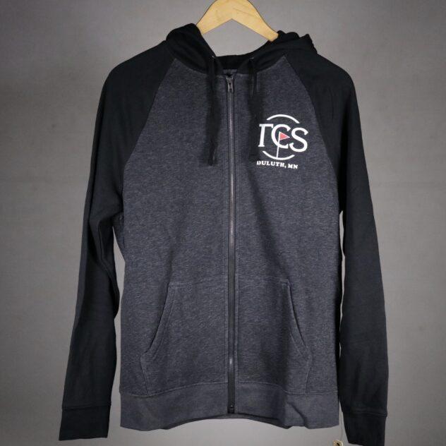 tcs logo fullzip hoodie
